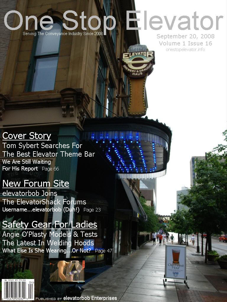 One Stop Elevator - Volume 1 Issue 16