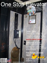One Stop Elevator - Volume 1 Issue 22