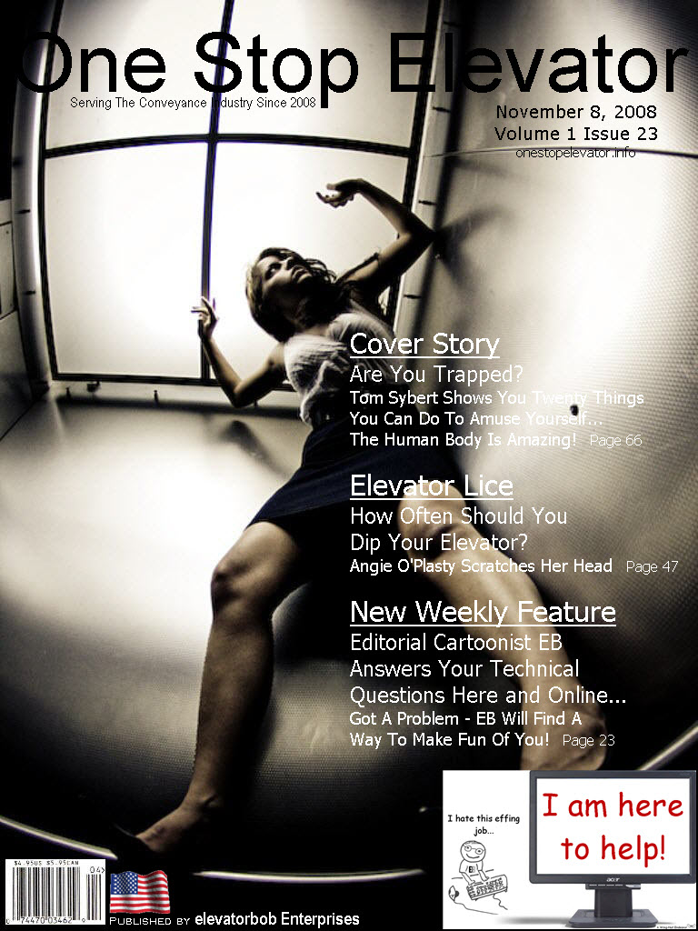 One Stop Elevator - Volume 1 Issue 23