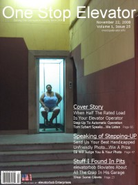 One Stop Elevator - Volume 1 Issue 25