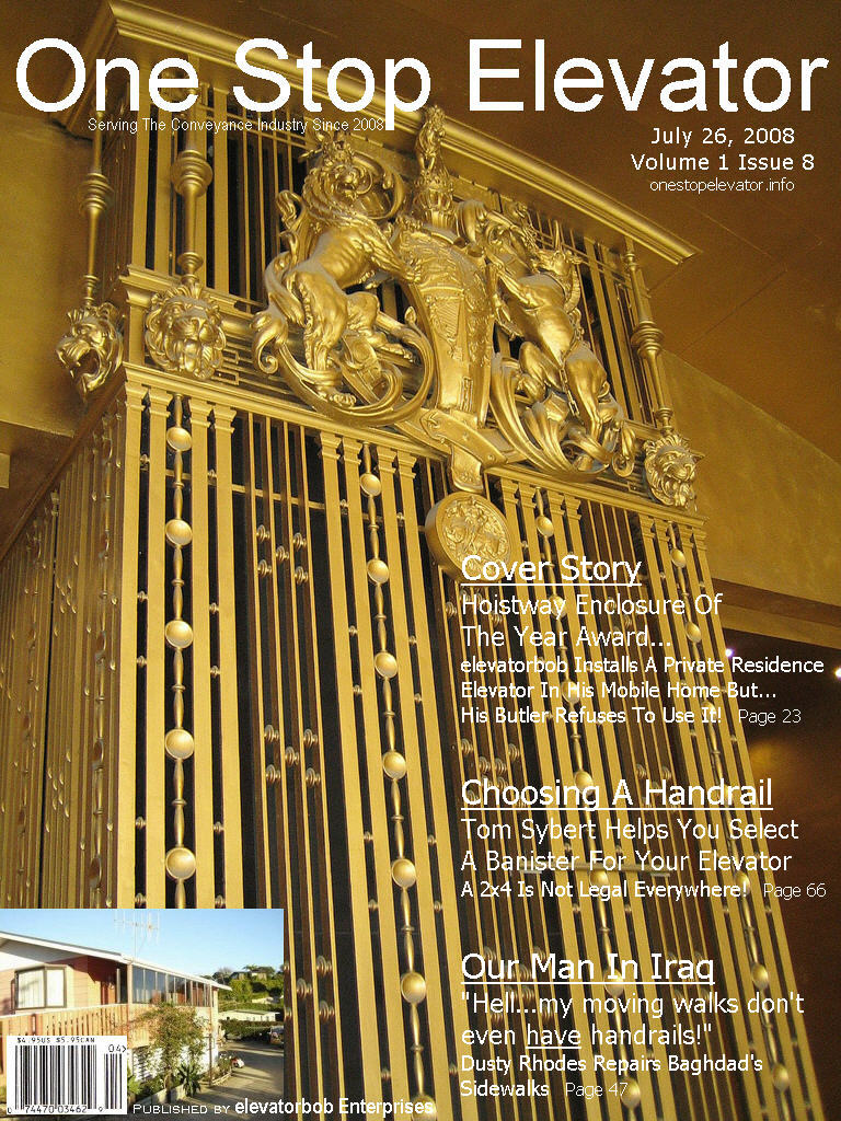 One Stop Elevator - Volume 1 Issue 8